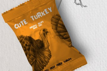 Hand drawn Turkeys Illustrations