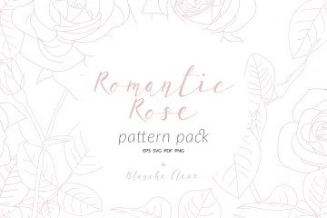 Romantic Rose Pattern