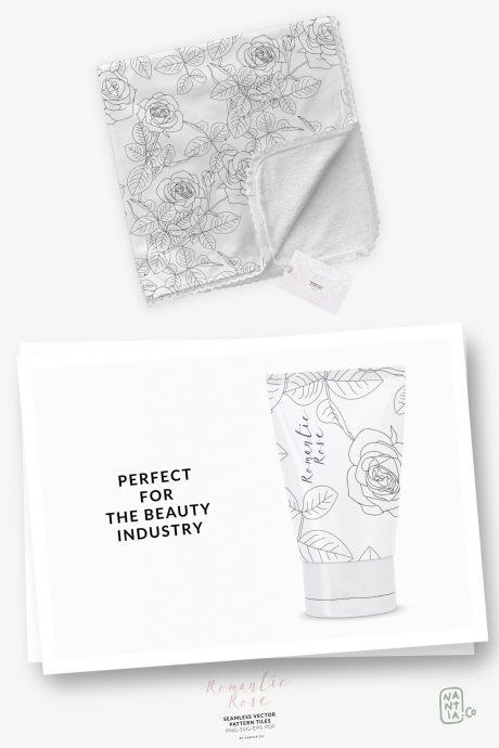Romantic Rose Pattern Pack