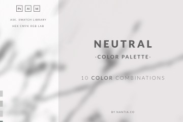 Neutral Color Palette collection
