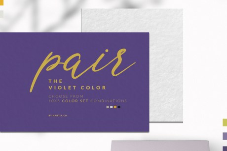 Violet Color Palette collection