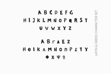 Naondi Decorative Greek Font