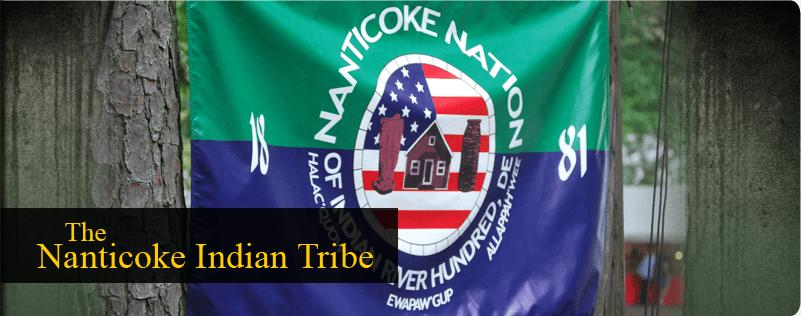 Nanticoke Indian Flag