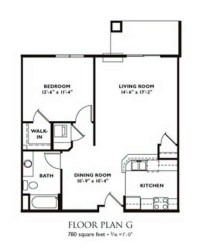 Madison Apartment Floor Plans