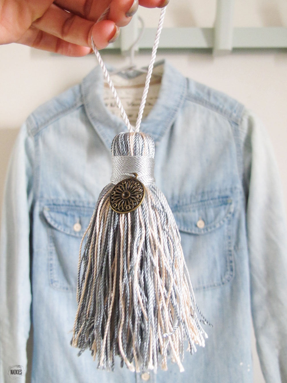MAY Collection scented tassel spijkerbloes