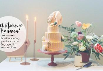 Het Nieuwe Trouwen Life Of Pie taart styling Engaged Perslunch