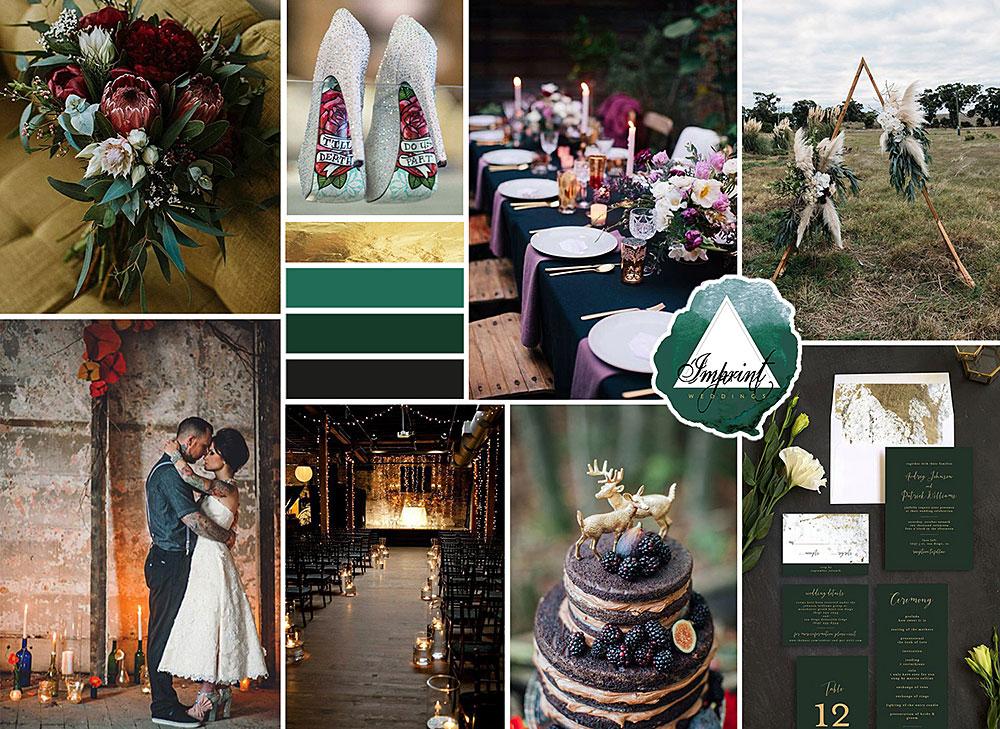 moodboard logo ontwerp imprint weddings studio naokies