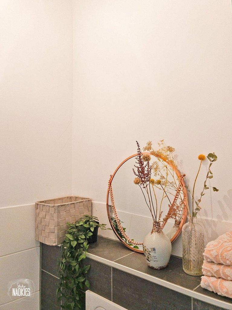 flamingo behang arte toilet pre-makeover studio naokies