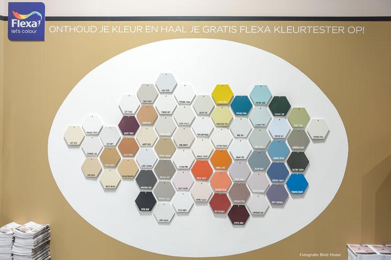Flexa handlettering vtwonen & designbeurs 2018 Studio Naokies
