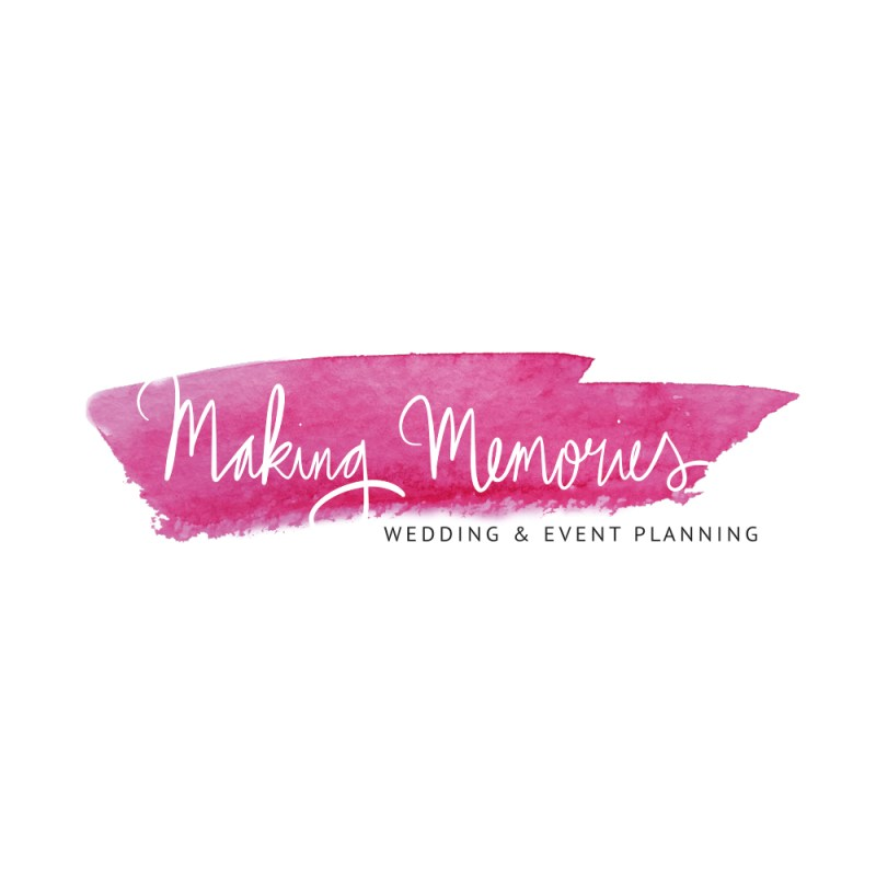 Branding voor Making Memories Wedding & Eventplanning logo ontwerp Studio Naokies
