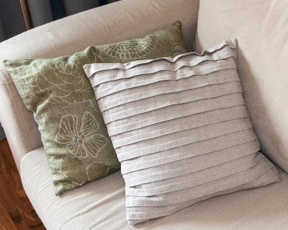 poduszki lniane