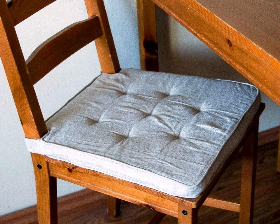 pikowane siedzisko na krzesło