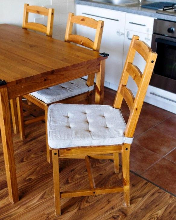 pikowane siedzisko