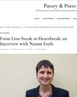 Image of Naomi Foyle on the Poetry and Poets website