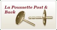 La Poussette - Earring Findings