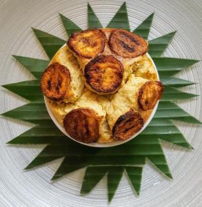 cuisine antillaise Soufflé de banane plantain