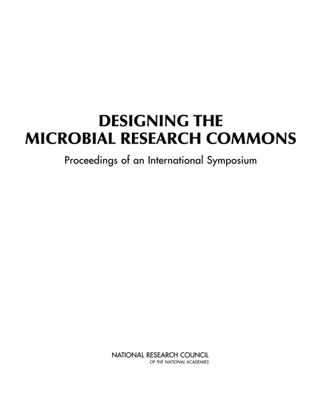 Designing the Microbial Research Commons: Proceedings of