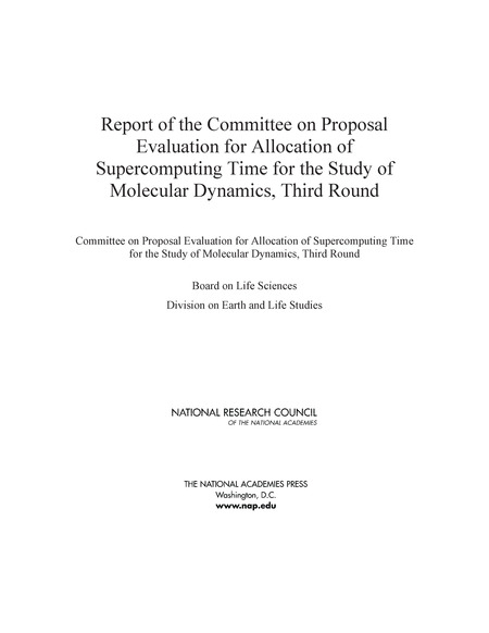 Report Of The Committee On Proposal Evaluation For