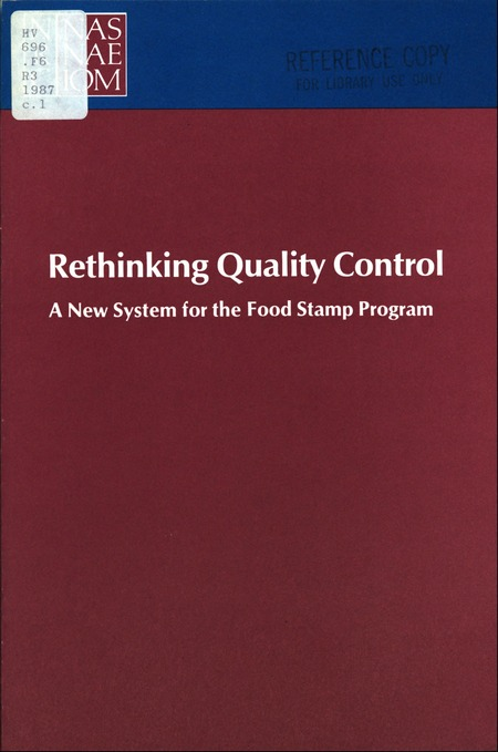 Rethinking Quality Control A New System for the Food