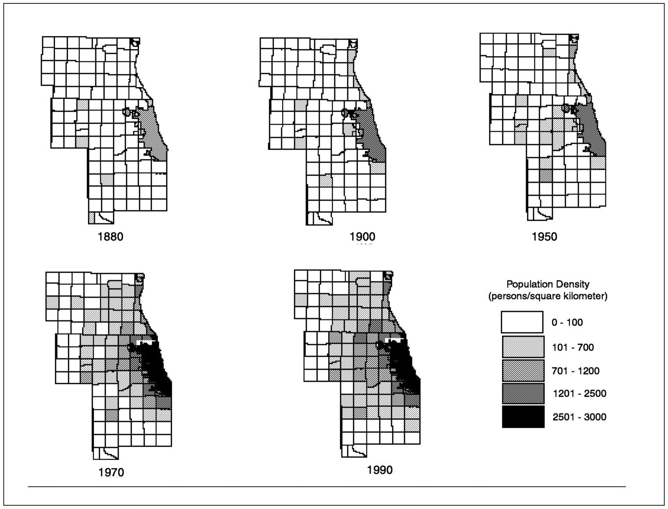 11. Evolution of the Chicago Landscape: Population