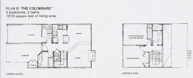 Yountville, Vintage Subdivision, Colombard floorplan