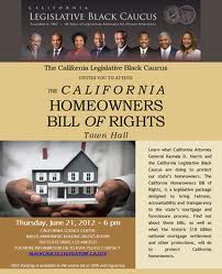 CA homewoner bill of rights