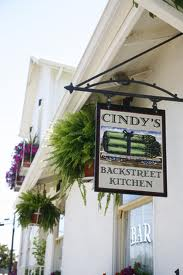 Cindy's Back Street Kitchen, St Helena Napa Valley