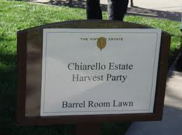 Chiarello Harvest Party, Napa Valley