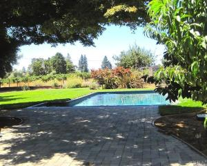 Napa Valley home with pool