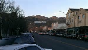 Downtown Calistoga, Napa Valley