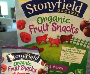 Stonyfield Organic Fruit Snacks