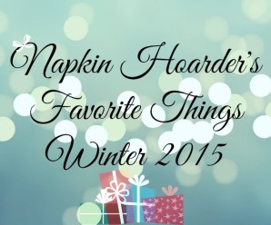 Favorite Things Gift Guide 2015