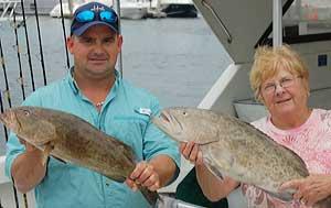 Gag Grouper Fishing in Naples FL