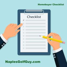 Homebuyer Checklist