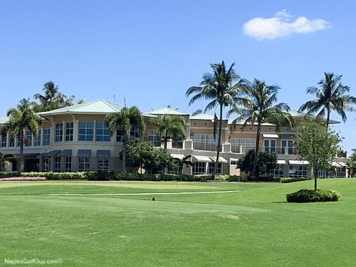 Marco Island Country Club Clubhouse