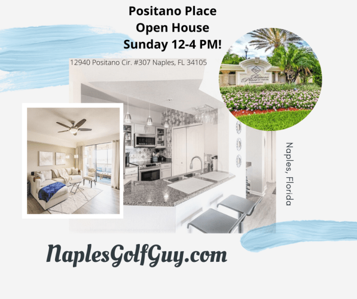 Positano Place Open House Sunday