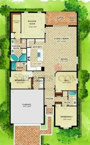 Sophia Floor Plan in this Treviso Bay Home Pending Sale