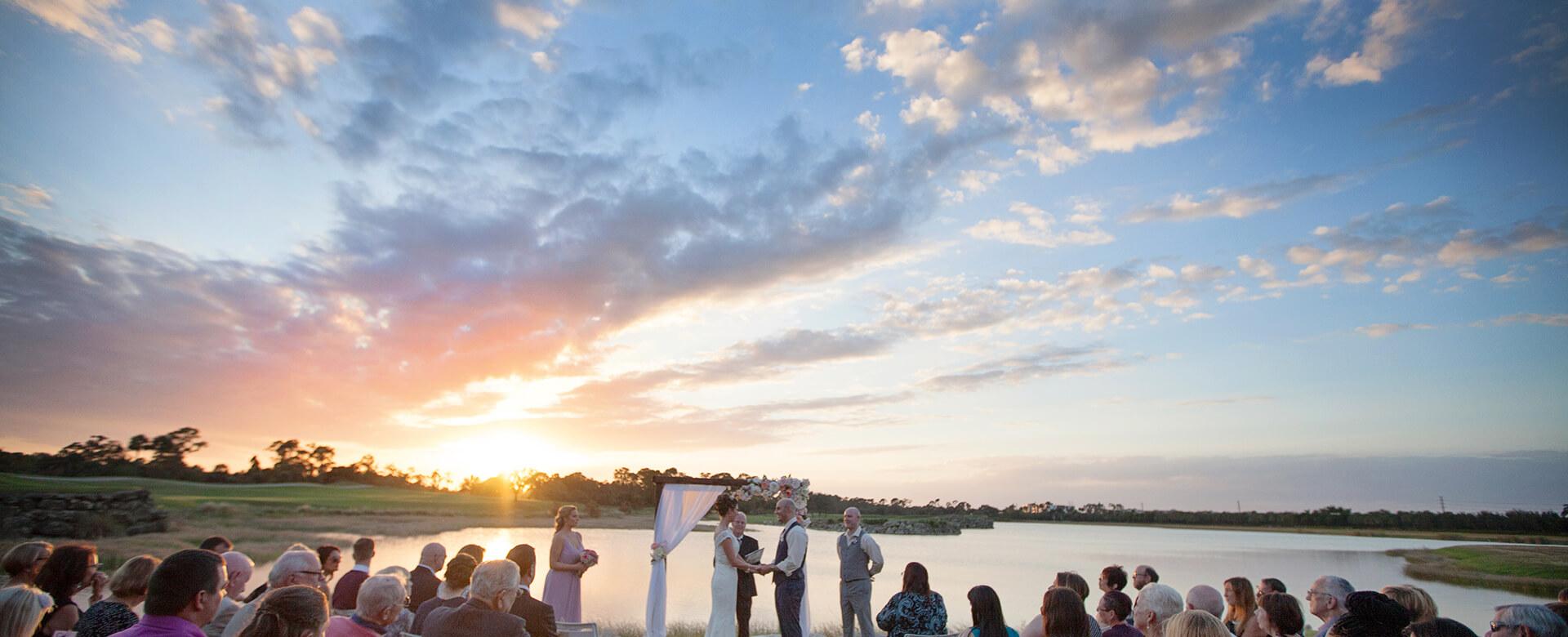hight resolution of wedding ceremony naples grande