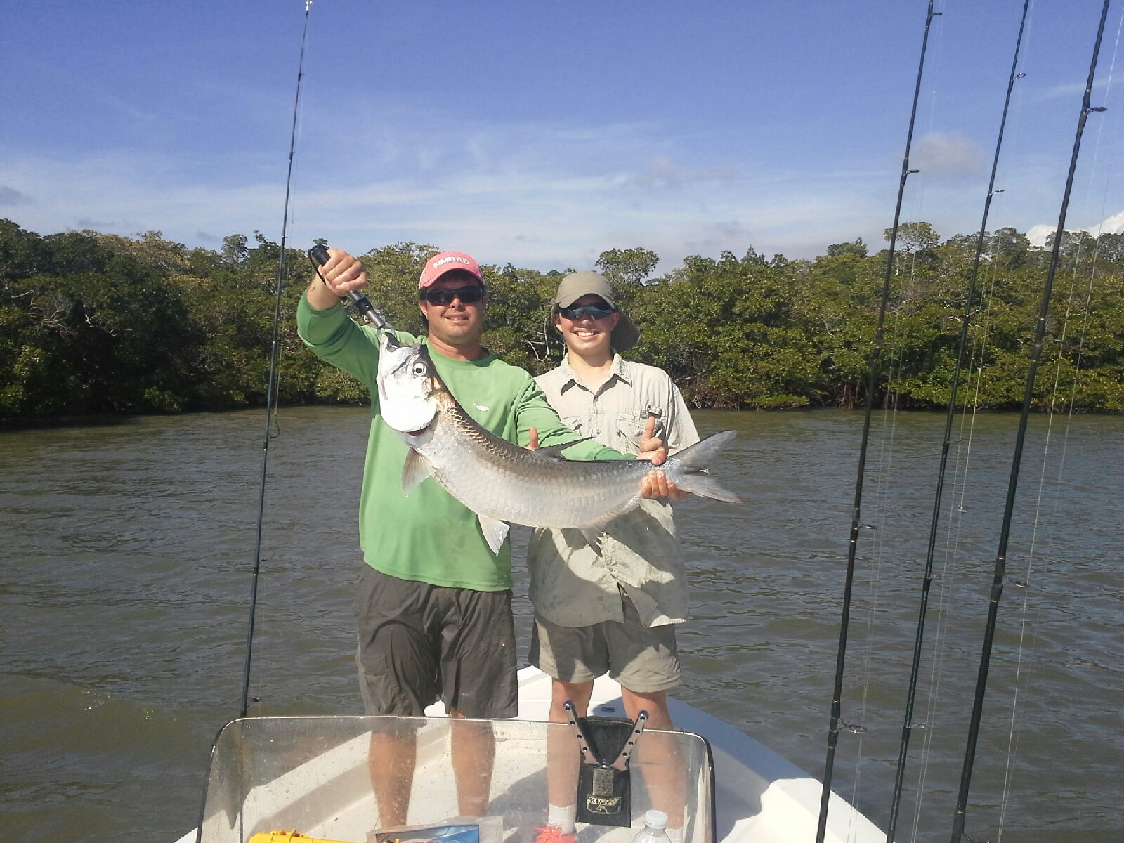 Backcountry fishing naples fl fishing guide captain for Tarpon springs fishing charters