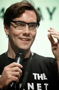 Jacob Appelbaum. Foto Flickr / re:publica 2012