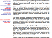 National Association of Police Organizations :: White ...