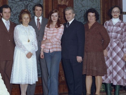 familia-ceausescu