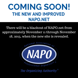 Coming Soon. The new NAPO.net