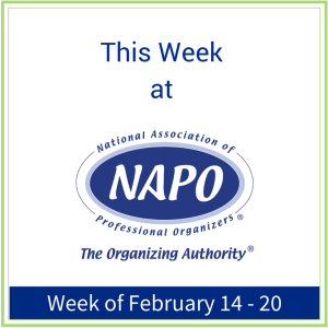 This Week at NAPO February 14 - 20
