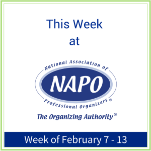 This Week at NAPO February 7 - 13