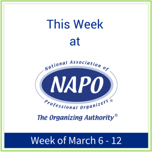 This Week at NAPO March 6th -12th