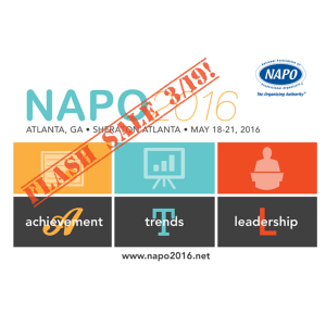 NAPO2016 Flash Sale
