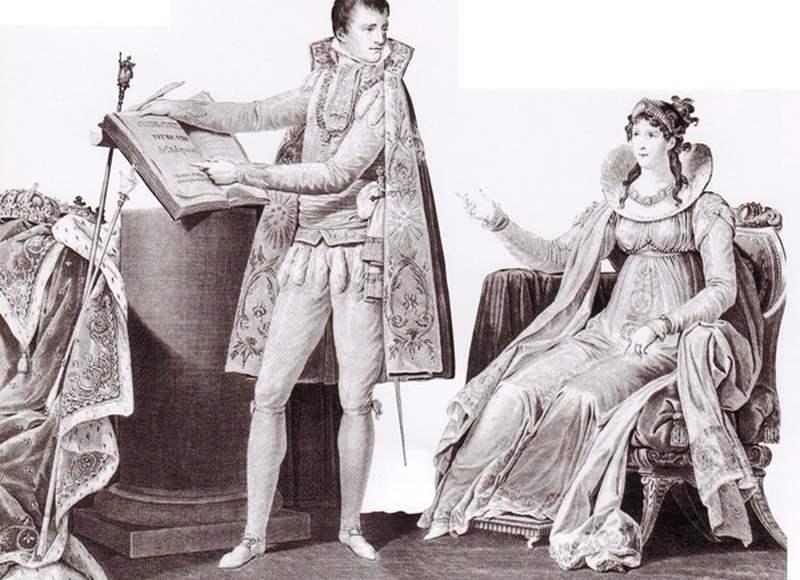 Napoléon et Joséphine