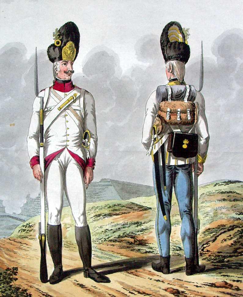 The Austrian Army in 1798 the Uniform Plates of Tranquillo Mollo and Joseph George Mansfield