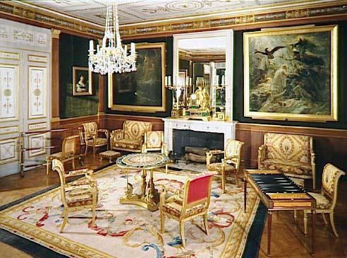 Mobilier du Salon dor du chteau de Malmaison  napoleonorg